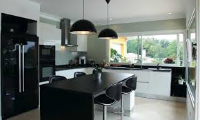 cuisine design de luxe cuisine moderne et design anthracite bois lzzy co
