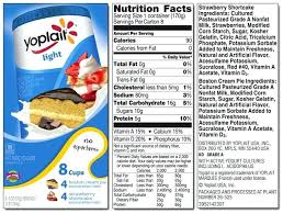 yoplait light yogurt ingredients yoplait light yogurt nutrition facts amazing lighting