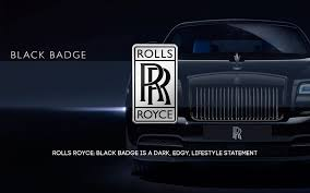 black rolls royce rolls royce black badge is dark and edgy codebros