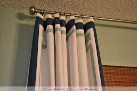 Painting Fabric Curtains Cheap U0026 Easy Curtain Panels Customized With Paint