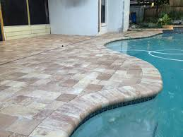 Brick Paver Patio Installation Orlando Paver Services Call Stonecraft Pavers 407 575 3935 Pool