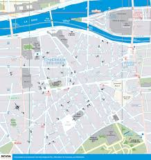 Paris France Map by Printable Travel Maps Of Paris France Moon Travel Guides