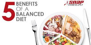 5 benefits of a balanced diet