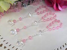 Crystal Baptism Favors Pulseras De Perlas Y Cristales Buscar Con Google Bijou