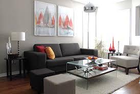 schwarzes sofa dekorieren mit wohnzimmer einrichten grau schwarz