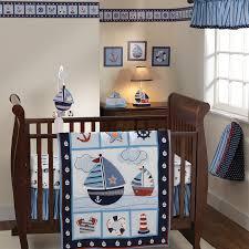 Baby Boy Monkey Crib Bedding Sets Sail Away 3pc Crib Bedding Set 310006243