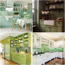 kitchen design and decorating ideas green kitchen design ideas home interior design kitchen and