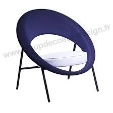 fauteuil design tissu fauteuil design géométrique bleu blanc saturne sur cdc design