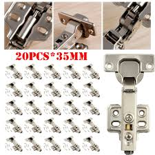 kitchen cabinet door hinge came 20x kitchen cabinet door hinges soft hydraulic shut clip on plate new