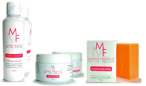French Skin Care Products Amazon Com Marie France Professional Body Whitening Kit Beauty