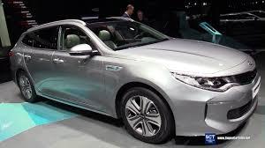 Kia Optima Interior Colors 2018 Kia Optima Sportwagon Plug In Hybrid Exterior Interior