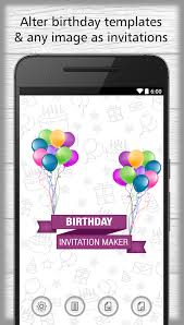invitations maker birthday invitations maker for android free and