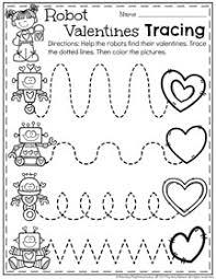 february preschool worksheets planning playtime