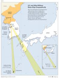 Korea Map Asia by South Korea Needs Thaad Missile Defense The Heritage Foundation