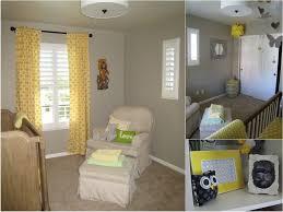 interior design yellow and grey baby room decor singular image