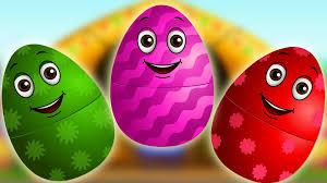 surprise eggs nursery rhymes old macdonald had a farm learn