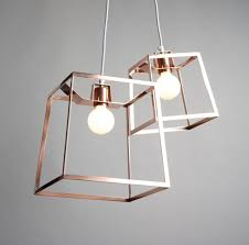 Caged Pendant Light Lighting Unusual Caged Copper Pendant Light Fixture For Barn
