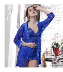 nightgowns for honeymoon women bridal blue babydoll nightgown