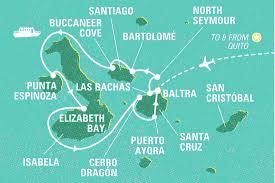 Galapagos Map Top 10 Galapagos Islands Tours U0026 Trips 2017 18 Geckos Adventures Nz