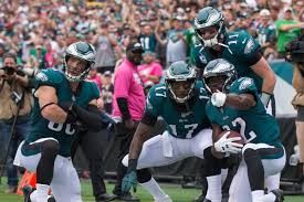the eagles had the best touchdown celebration in the nfl this