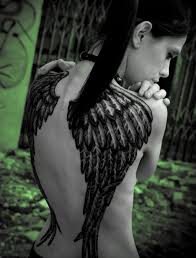 angel wings tattoos on back tattoo design pictures
