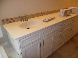 Brown Gray Metal Slate Backsplash by Bathrooms Design Tile Backsplash Ideas Bathroom For Marble Tiles