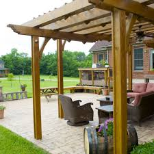 lanais vs pergolas in illinois american deck u0026 sunroom