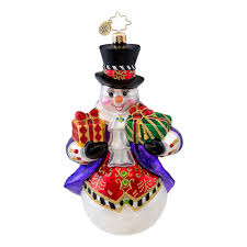 christopher radko ornaments 2014 radko snowman