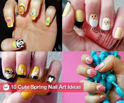 cute nail art ideas for spring popsugar beauty