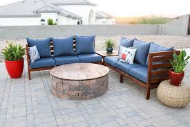 diy outdoor sectional sofa part 1 how to build the sofa