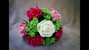 Rose Flower Design How To Make Rose Flower From Crepe Paper Kawasaki Craft Tutorial