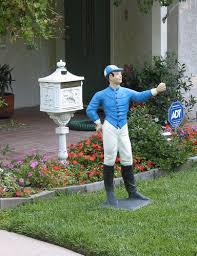 something you don t see everyday a white lawn jockey the uppity