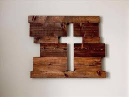 rustic wood crafts to make and sell cross sign diy palety