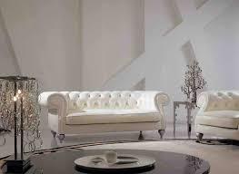 canapé ivoire haute qualité ivoire couleur véritable en cuir salon canapé de luxe