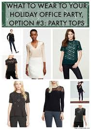 party attire what to wear to your office party