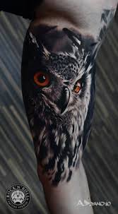 tiger forearm tattoo designs best 25 realistic owl tattoo ideas on pinterest white owl