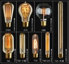 Edison Light Bulbs High Quality Vintage Edison Globe 60w E27 Edison Light Bulb Buy