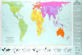 Map Projection Folksonomy Mercator Projection Versus The Gall Peters Projection