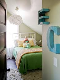 Bedroom With Knee Wall An Unused Attic Gets A Full Makeover Hgtv