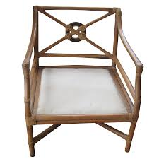 vintage used chair ottoman sets chairish mid century swivel