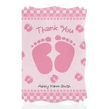 thank you card for baby shower best shower