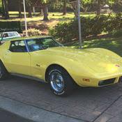 1976 corvette yellow 1976 corvette stingray 12k original factory 4 speed