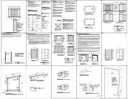 Free Wood Shed Plans 10x12 by Free Storage Shed Plans 8 12 How To Build An Amish Shed Shed