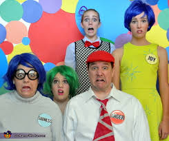 Inside Out Costumes Inside Out Emotional Family Costume Photo 9 10