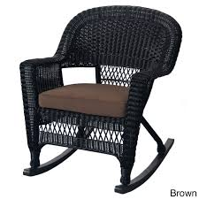 wicker rocking chair faux wicker rocker with book pocket