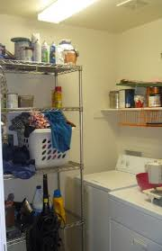 remodelaholic colorful blue laundry room makeover