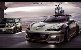 subaru brz stance subaru brz sti edc graphic by edcgraphic on deviantart