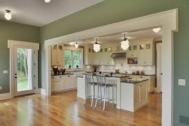 Green Country Kitchen Green Addition Italianate Farmhouse Country Kitchen