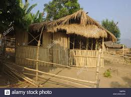 traditional house in a aeta village near santa juliana tarlac