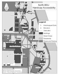 handicap accessibility maps disability services bemidji state north bsu campus map black and white